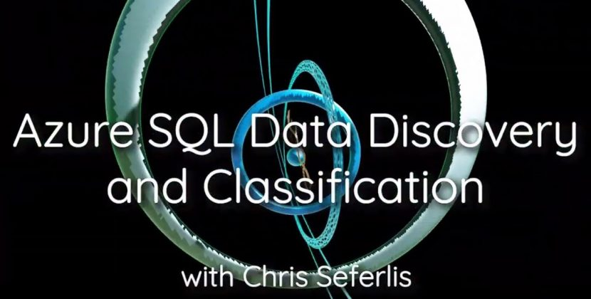 Azure SQL Data Discovery and Classification