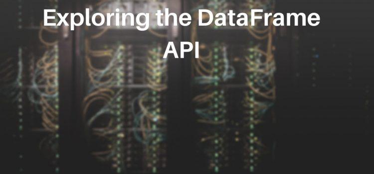 Exploring the C# Dataframe API