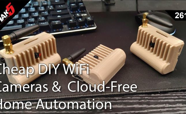 Cheap DIY WiFi Cameras & Cloud Free Home Automation