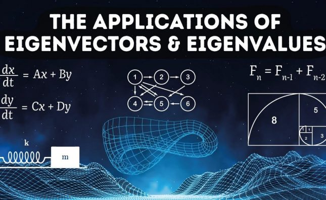 Applications of Eigenvectors and Eigenvalues