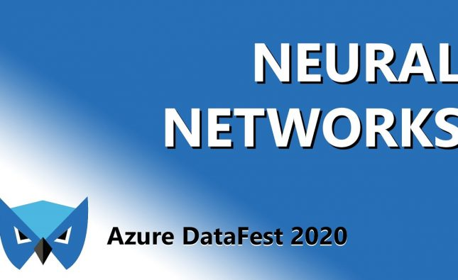 My Neural Networks from the Ground Up Talk from Philly Azure DataFest