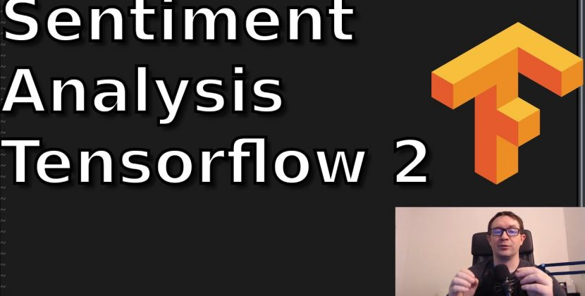 Sentiment Analysis With Tensorflow 2