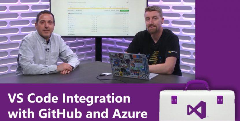 VS Code Integration with GitHub and Azure
