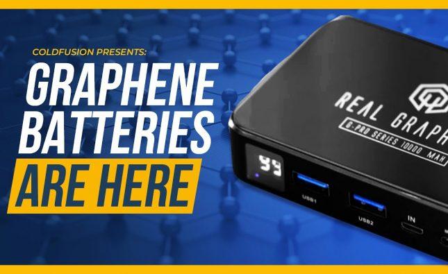 Graphene Batteries Hit the Market