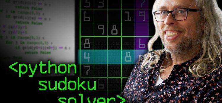 Python Sudoku Solver