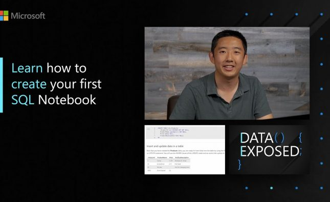 Learn How to Create Your First SQL Notebook