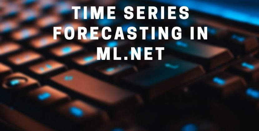 Time Series Forecasting in ML.NET