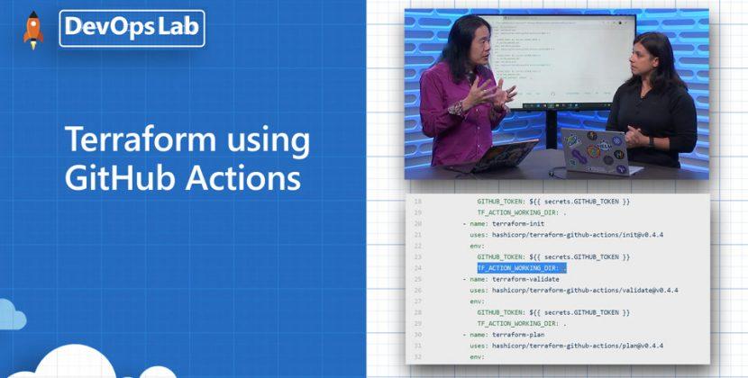 Terraform using GitHub Actions