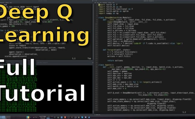 Deep Q Learning is Simple with PyTorch