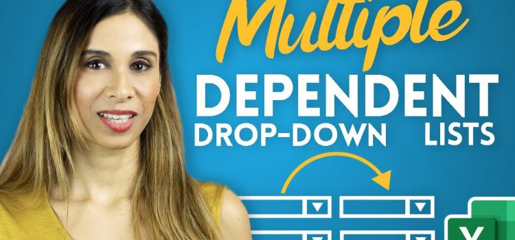 Create Multiple Dependent Drop-Down Lists in Excel