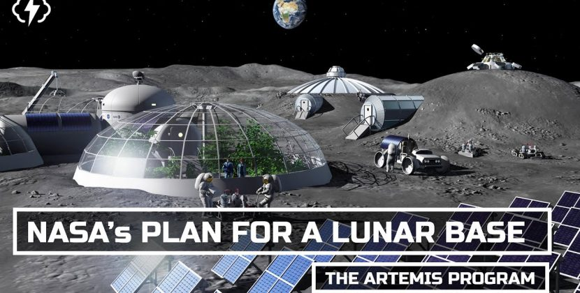 NASA's Plan For A Permanent Moon Base