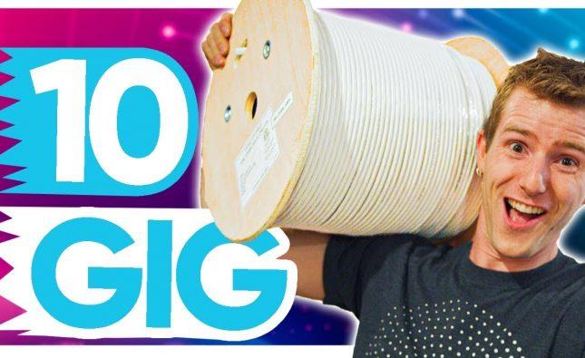 Inexpensive 10 Gig Home Network Upgrade
