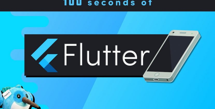 Flutter in 100 seconds
