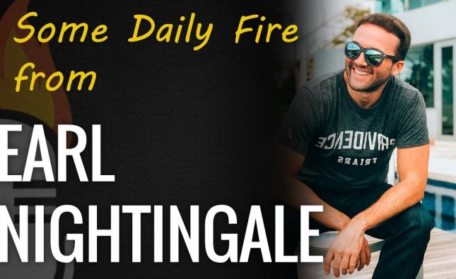 Daily inspiration with Earl Nightingale & JLD