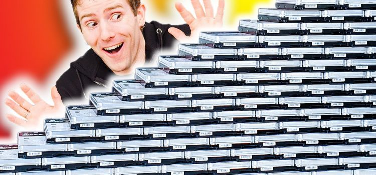 Unboxing 3 PETABYTES of storage