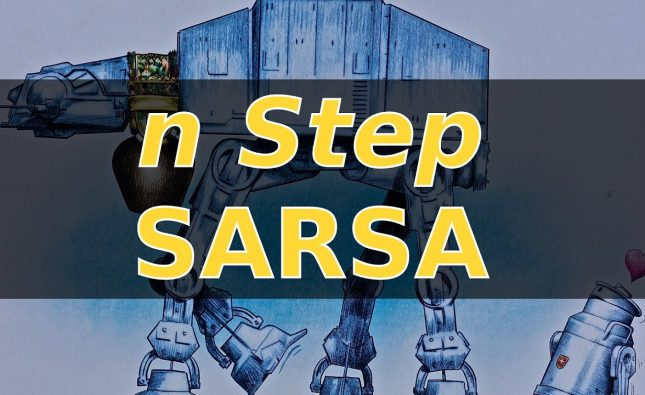 Robot Learns to Self Balance with N Step SARSA