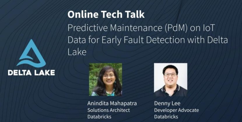 Predictive Maintenance on IoT Data for Early Fault Detection w/ Delta Lake