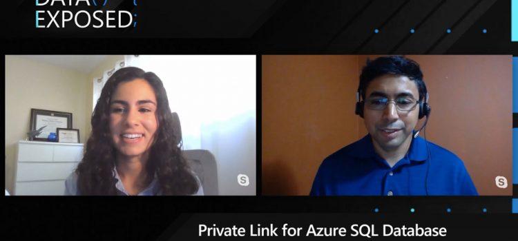 Private Link for Azure SQL Database Part 1