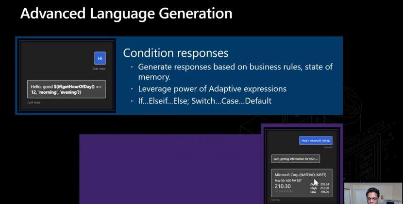 Advanced Language Understanding & Language Generation with Bot Framework Composer