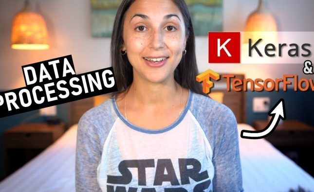 Data Processing for Neural Network Training with Keras with TensorFlow