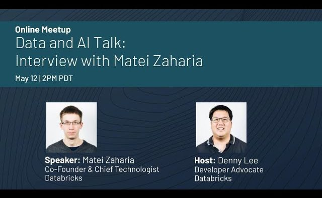 Data and AI Talk with Databricks Co-Founder, Matei Zaharia