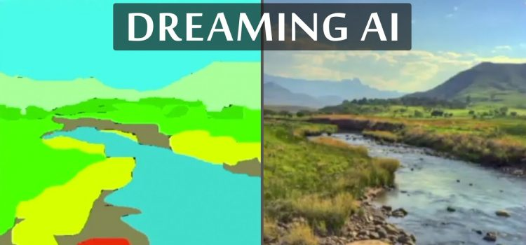 Neural Network Dreams About Beautiful Natural Scenes