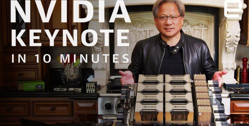 NVIDIA GTC 2020 Keynote in 10 minutes