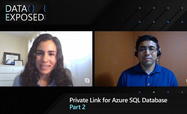 Private Link for Azure SQL Database – Part 2