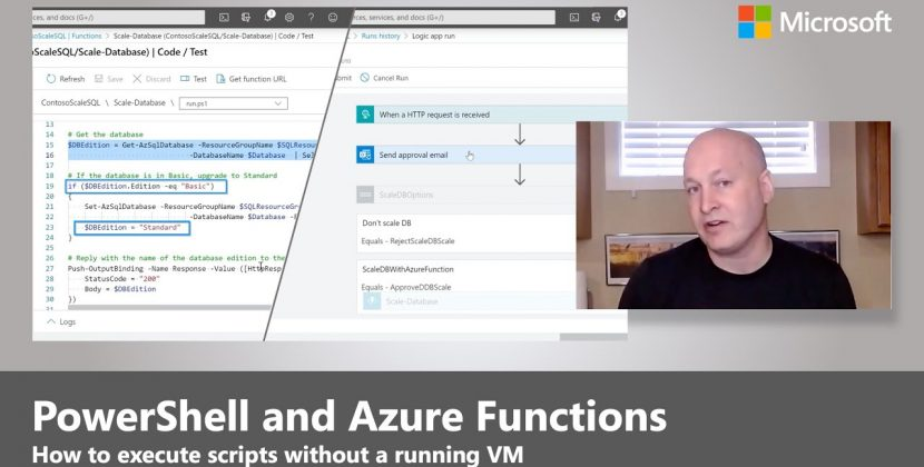 Serverless Event-based Automation with PowerShell & Azure Functions