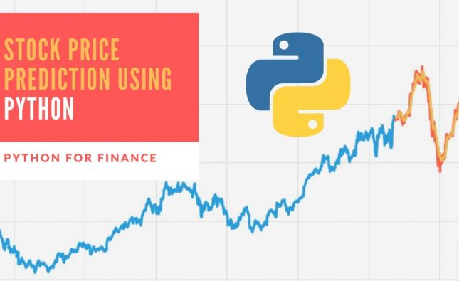 Stock Price Prediction Using Python & Machine Learning