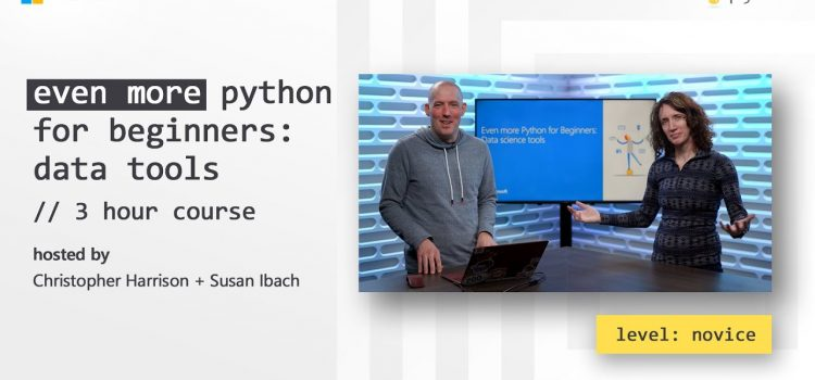 Python for Beginners – Data Tools