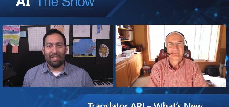 What's New in the Translator API