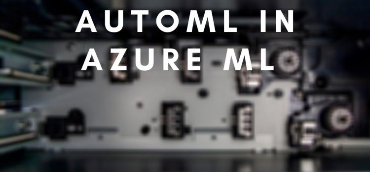 Use AutoML in Python with Azure ML Services