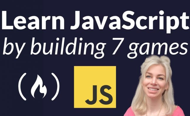 Learn JavaScript by Building 7 Games