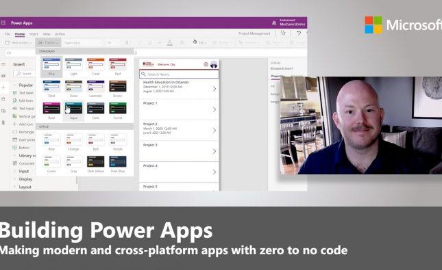 Power Apps Bring New Capabilities Building Zero-To-Low-Code Apps