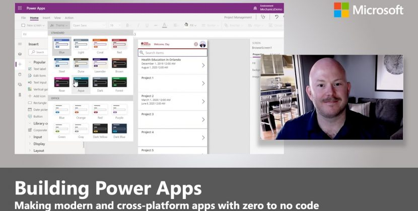 Power Apps Bring New Capabilities Building Zero-To-Low-Code Apps