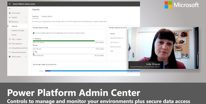 Power Platform Admin Center