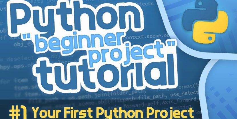 Python Beginner Project Tutorial