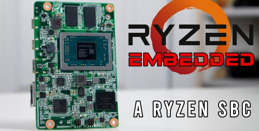 DFI GHF51 Review (Smallest RYZEN SBC)
