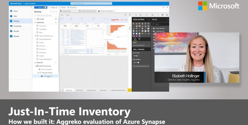 Azure Synapse and Just-In-Time Inventory at Aggreko