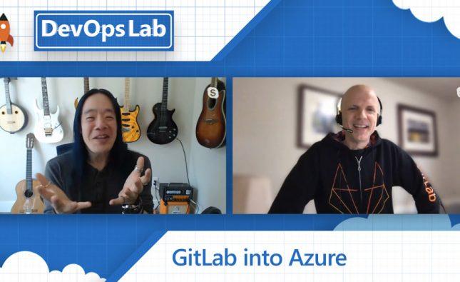 GitLab into Azure