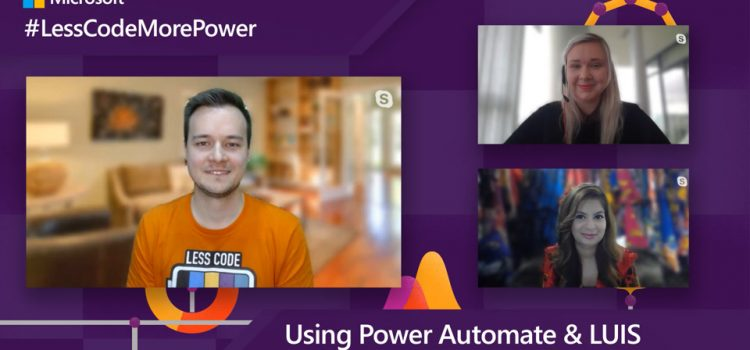 Using Power Automate & LUIS with Tomasz Poszytek