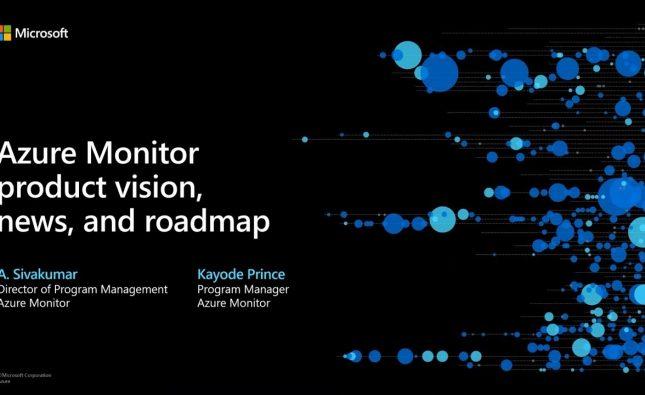 Azure Monitor Keynote