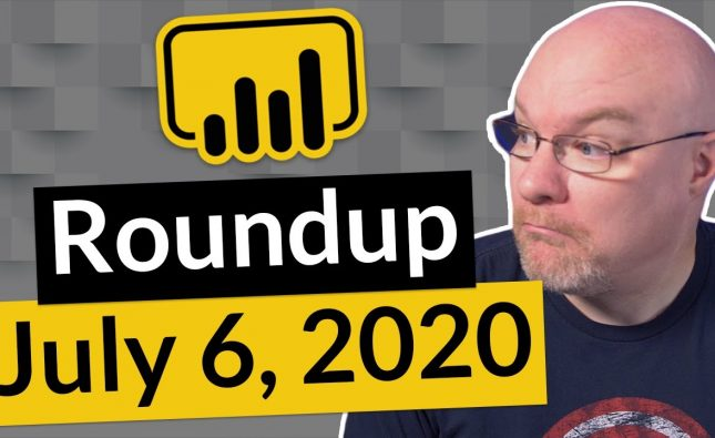 Power BI Community Roundup
