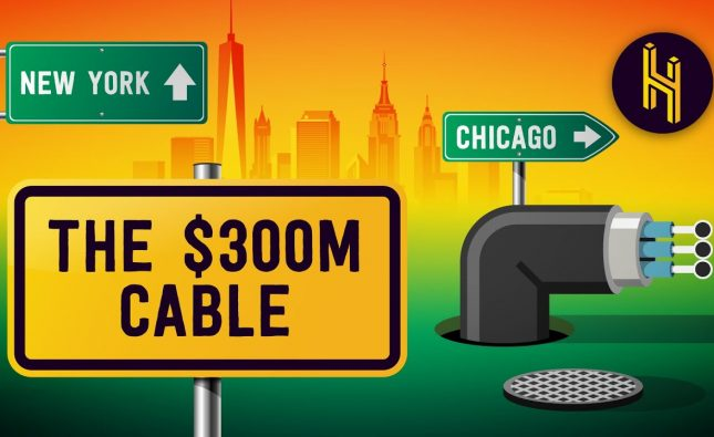 The $300 Million Cable Between New York and Chicago