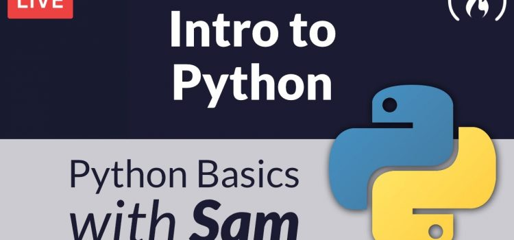 Intro to Python Livestream