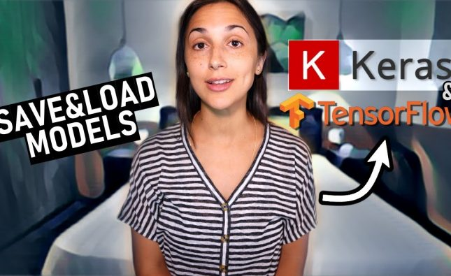 Save and Load a Model with TensorFlow's Keras API