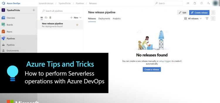 How to Perform Serverless Operations with Azure DevOps