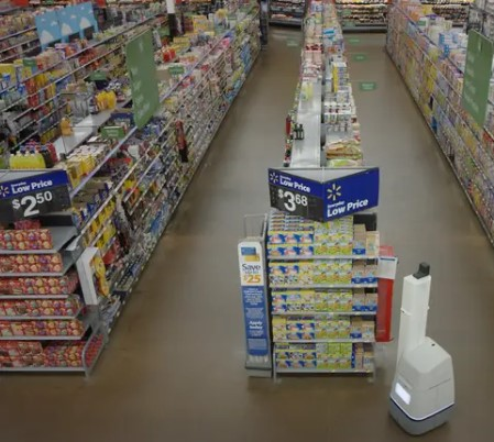 Robots at Walmart!