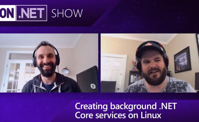 How to Create Background .NET Core Services on Linux